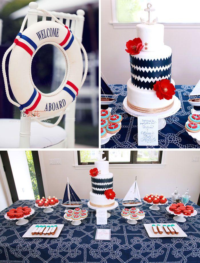 航海主题生日party