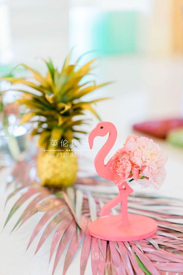 火烈鸟主题生日派对