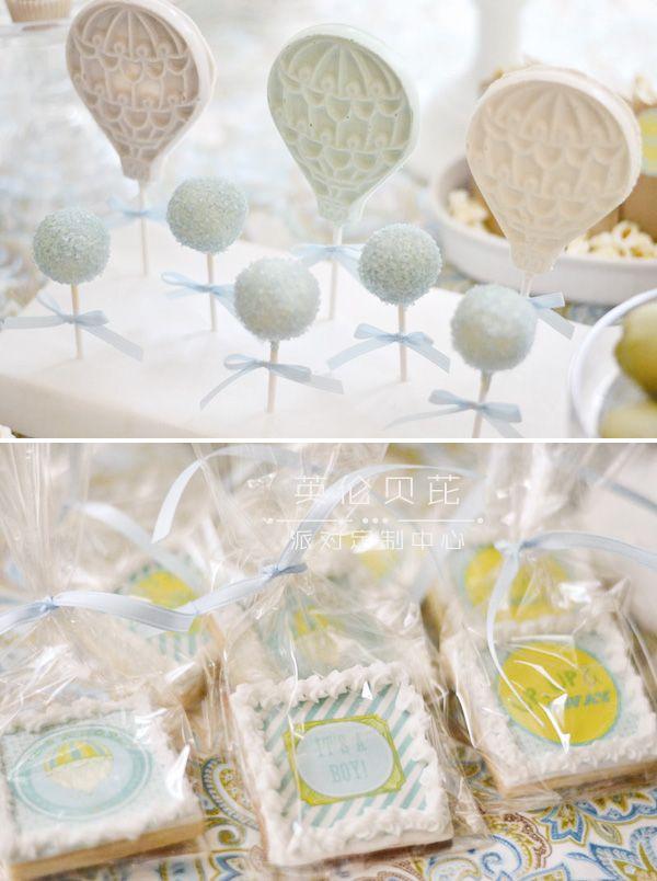 热气球甜点主题生日派对