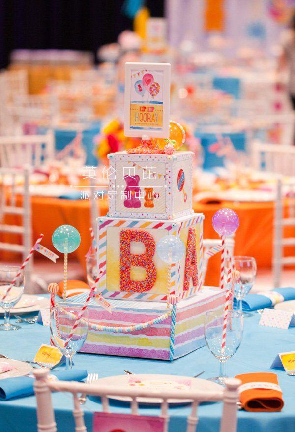 甜蜜糖果主题生日派对