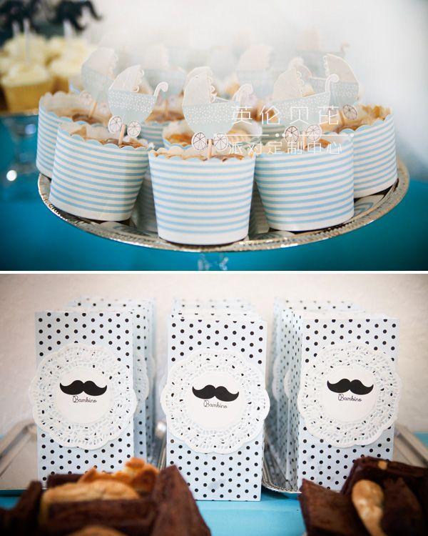 小胡子主题生日派对