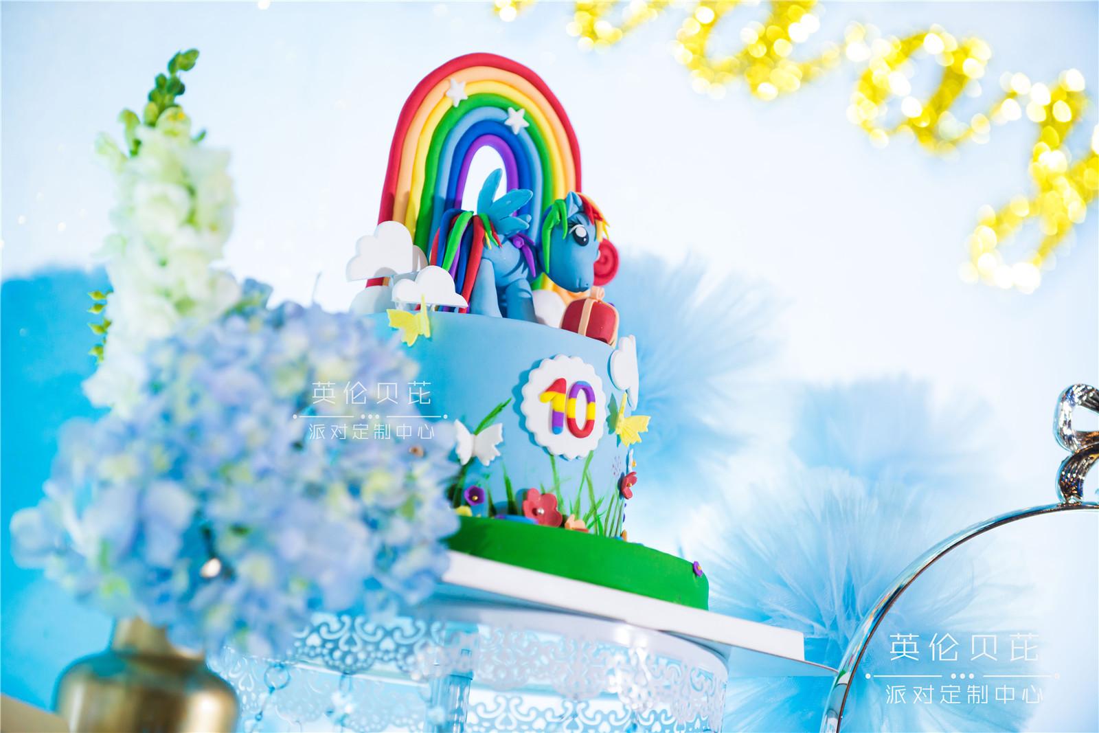 《云宝》 l 10岁主题生日派对