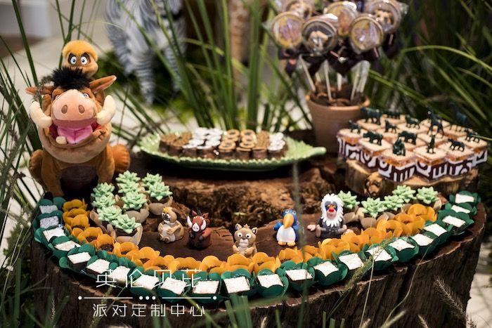 Lion King Birthday Party on Kara