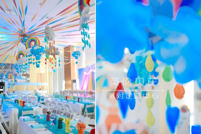 Happy Clouds and Raindrops Party - 10