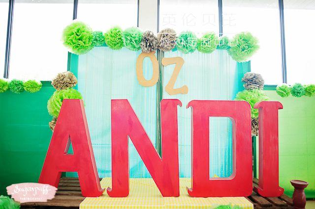 神奇的绿野仙踪生日party创意