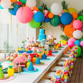 热带风情主题生日派对,真的太漂亮了!