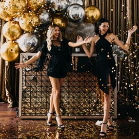高端奢华的黑金生日派对,美爆了!