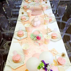 粉色温馨主题生日派对,太棒了!