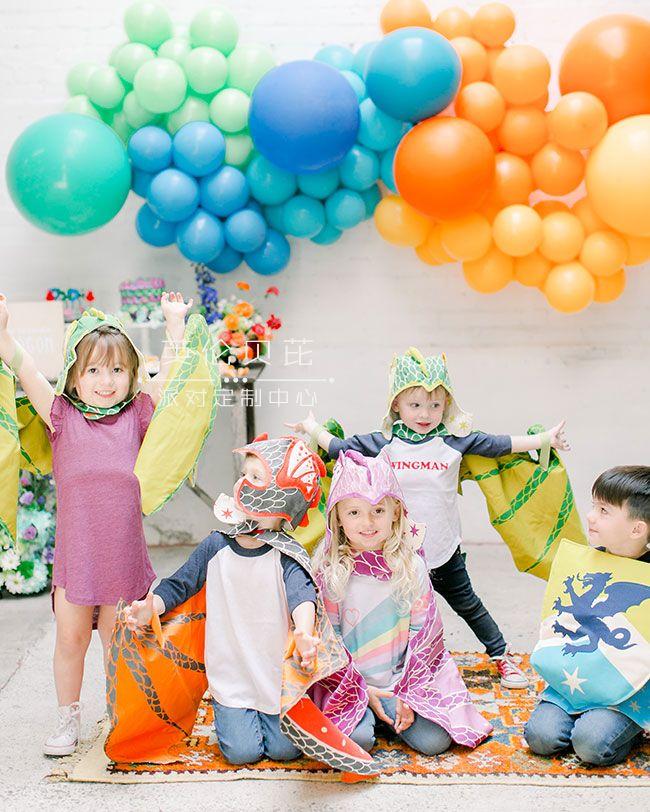 龙宝宝主题party