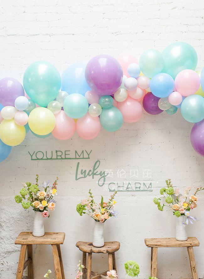 幸运符主题生日party