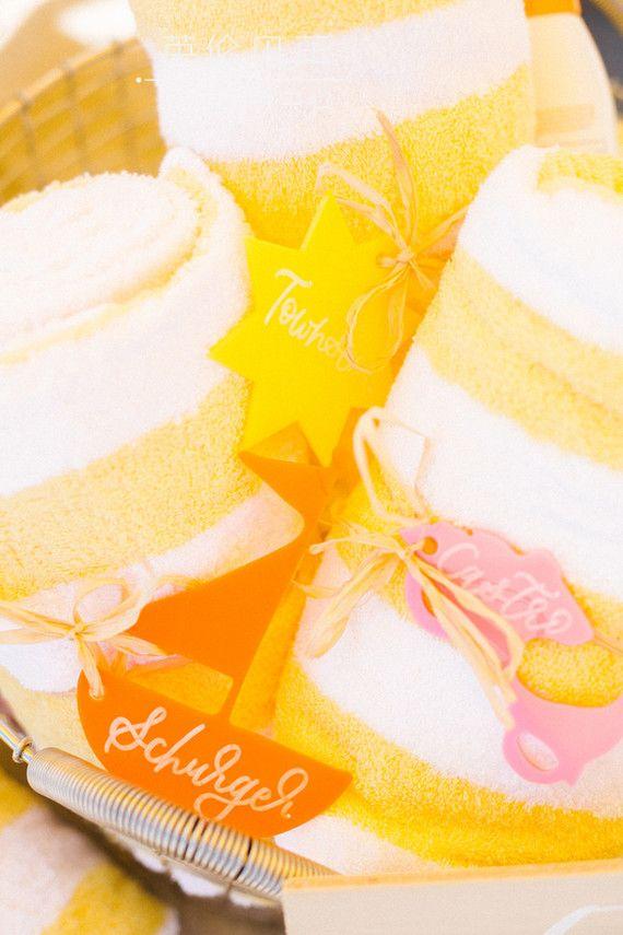 清凉柠檬沙滩主题生日party