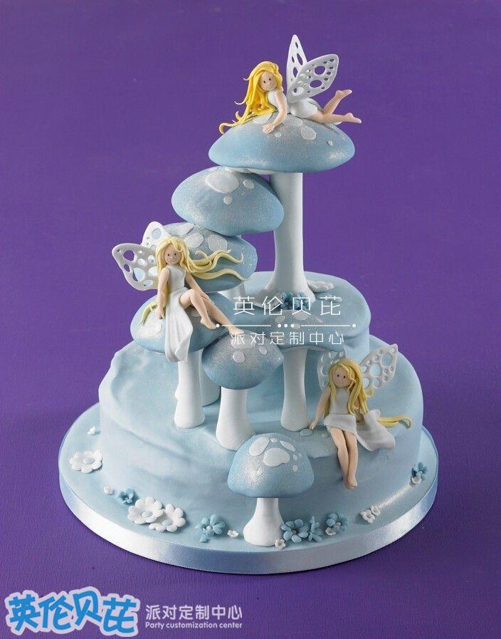 花仙子生日蛋糕图片大全