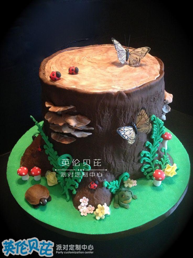 好看的生日蛋糕图片
