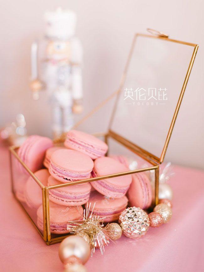 粉色的胡桃夹子主题生日派对