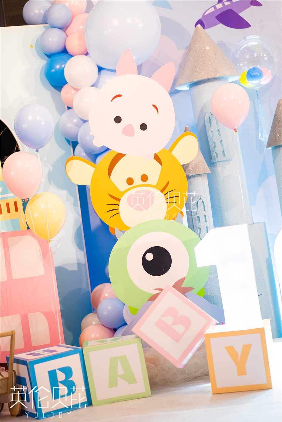迪士尼团子宝宝宴