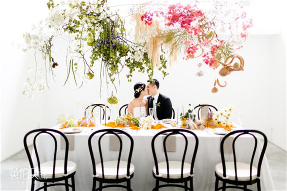 现代美术馆布置婚礼