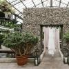 温室优雅的植物婚礼