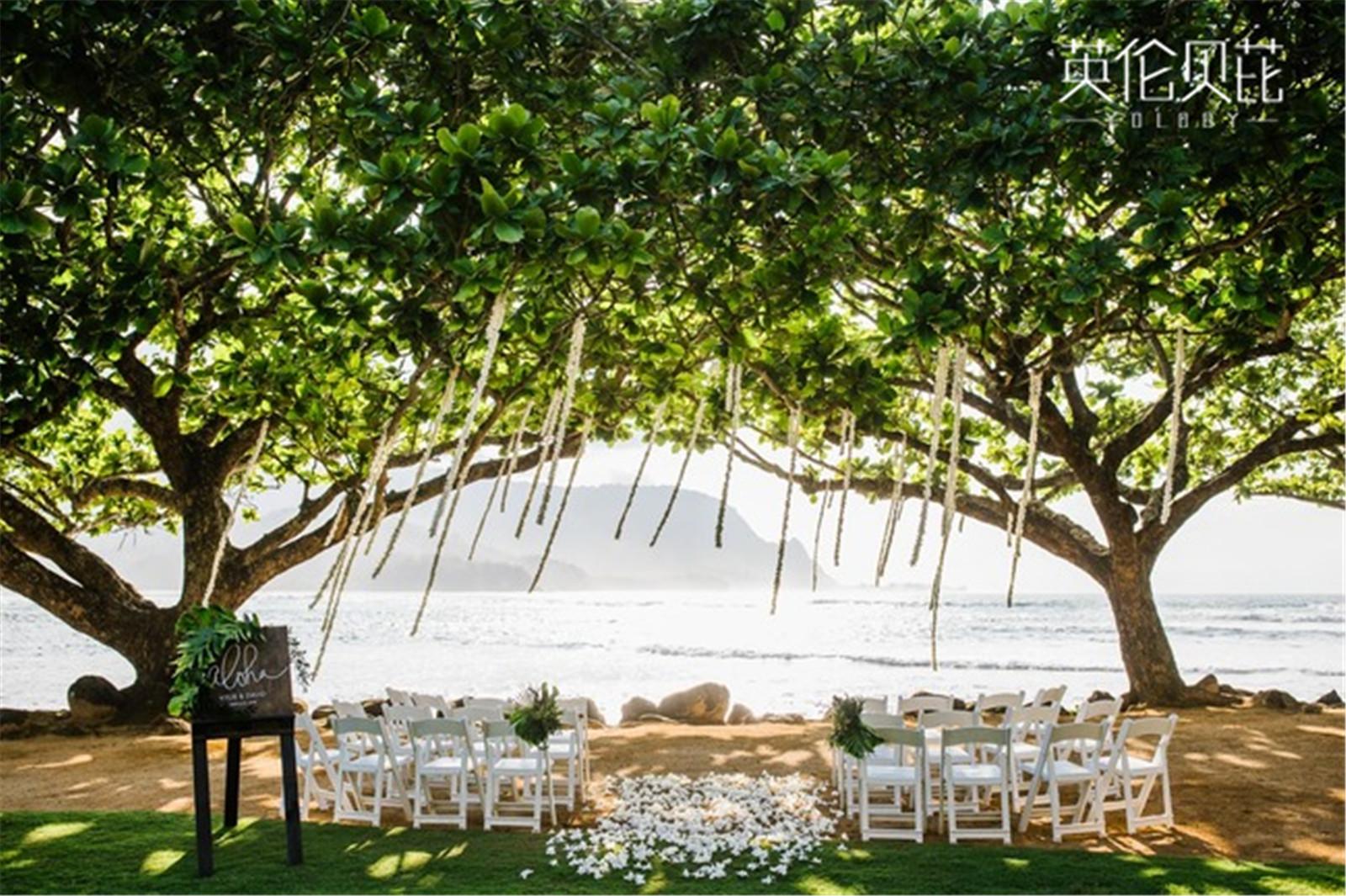 海滨婚礼策划