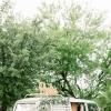 白绿色系花园婚礼布置