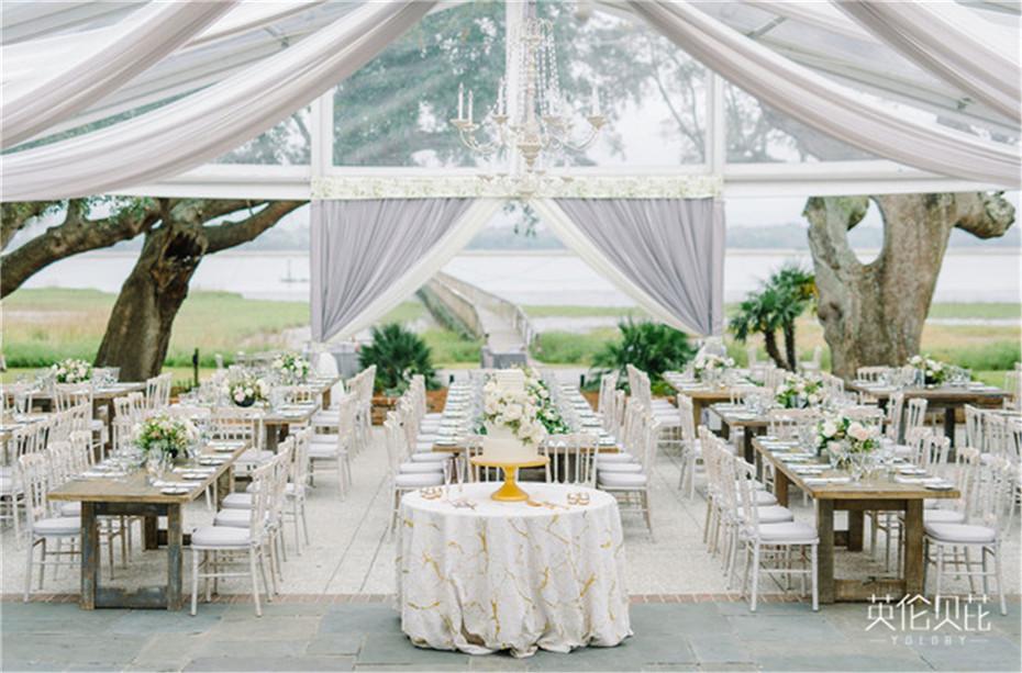 灰色和象牙色婚礼策划