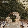 现代户外花园婚礼