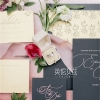 温室现代黑+粉色花艺婚庆创意