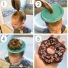 古怪甜甜圈发型DIY