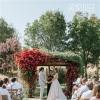 浆果色乡村婚礼——选择牧场做婚礼场地