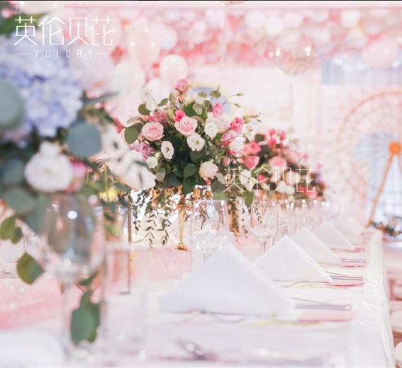 粉色皮卡丘主题生日宴