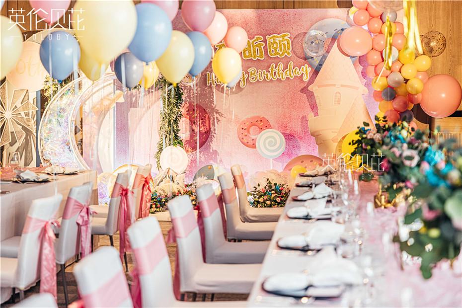 糖果主题生日派对